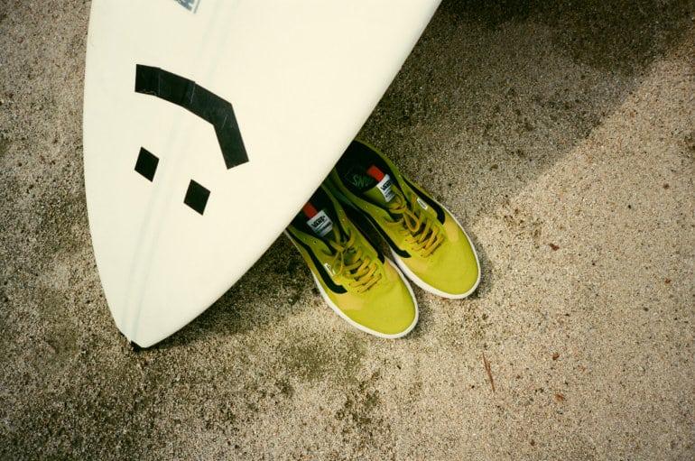 Vans UltraRange EXO 03 Vans Launches New UltraRange EXO Sneaker in Green Sulphur Sneakers