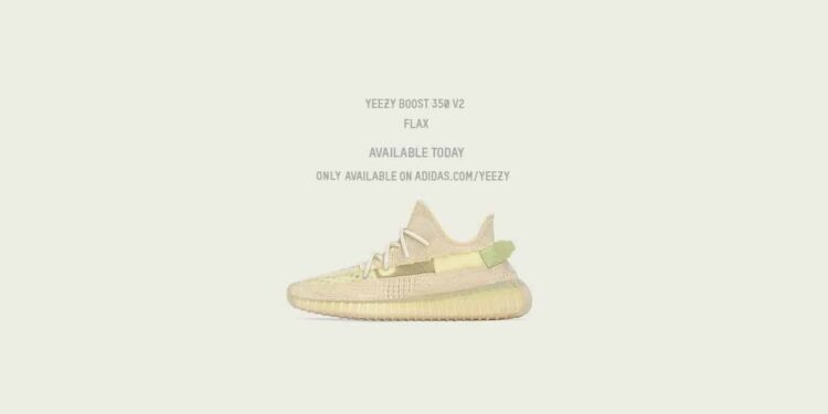 adidas Continues Kanye Partnership with YEEZY BOOST 350 V2 Flax