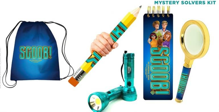 Mystery Solvers Kit Play These Fun <em>Scoob!</em> Movie Games And Win Awesome Prizes Competitions