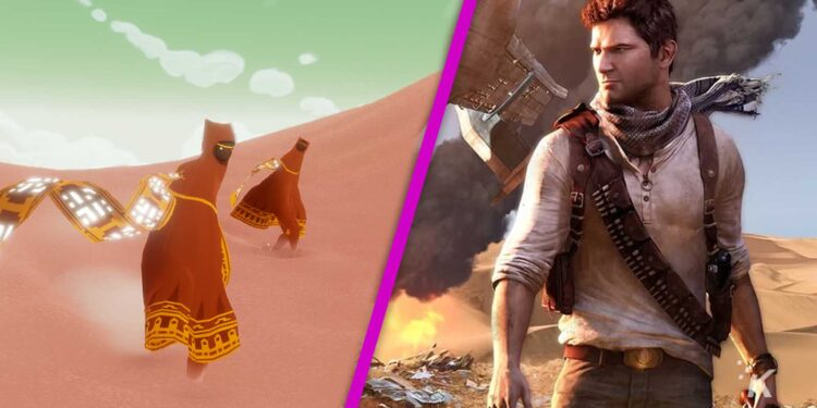 Play At Home Uncharted The Journey Sony Offers Uncharted and Journey PS4 Games for Free Gaming