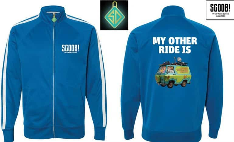 Retro Track Jacket with Glow in the Dark Zipper Pull S Play These Fun <em>Scoob!</em> Movie Games And Win Awesome Prizes Competitions