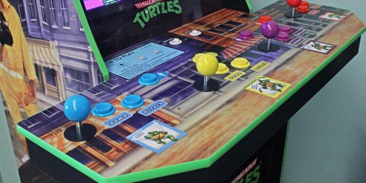 Teenage Mutant Ninja Turtle 1989 game arcade