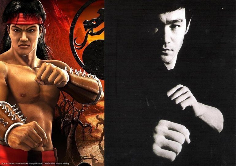 bruce lee mortal kombat