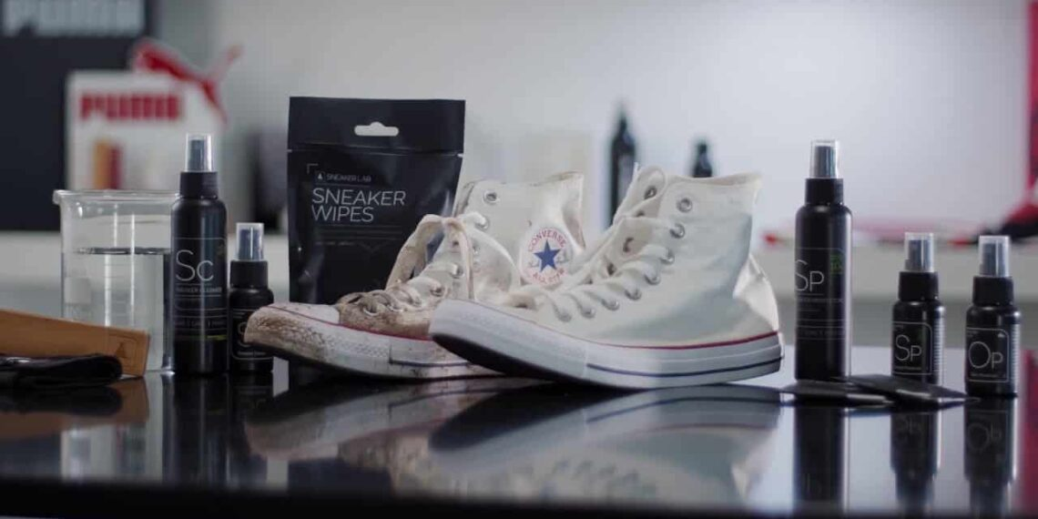 Fighting Germs with Sneaker Lab for Ultimate Sneaker Protection