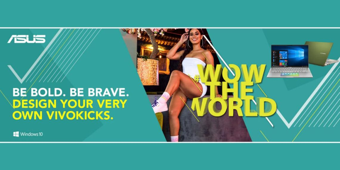 Win a Pair of Custom Sneakers with the New ASUS #WowTheWorld Campaign