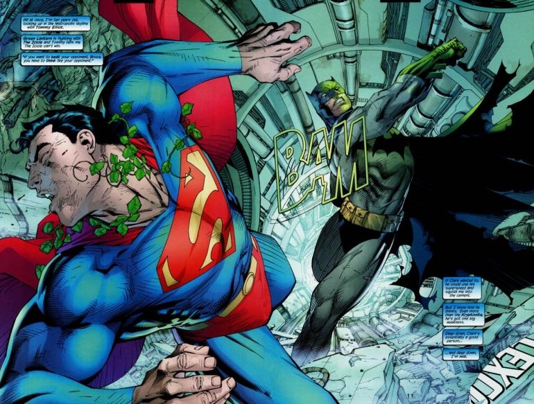 Batman Kryptonite Superman
