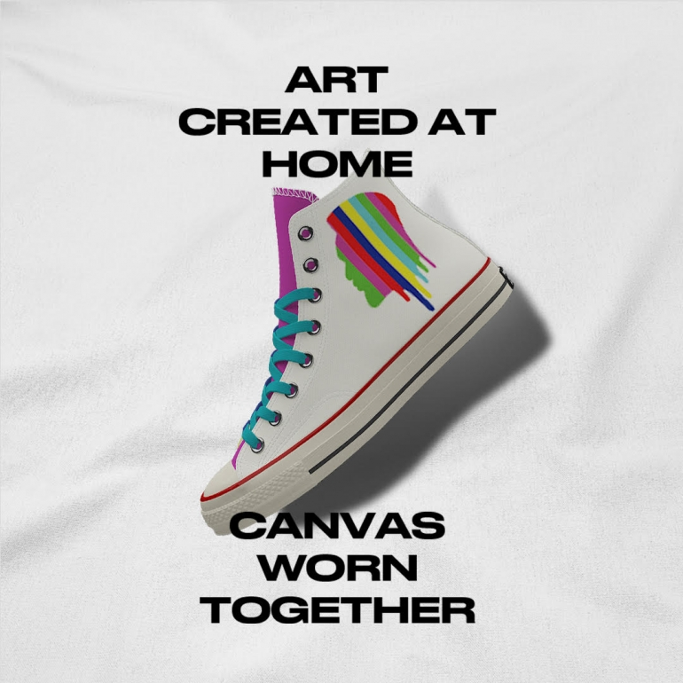 DAVID TSHABALALA Converse Unity Campaign Launches Its Arty Sneaker Collection Sneakers