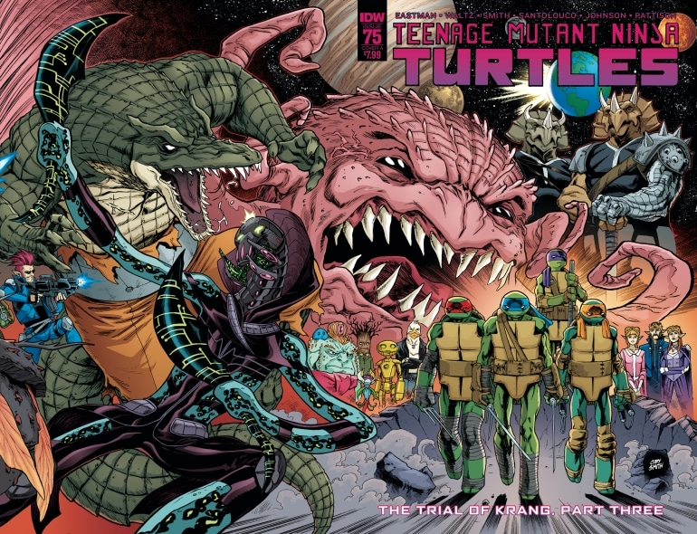 IDW Teenage Mutant Ninja Turtles Best Comic Book in the World