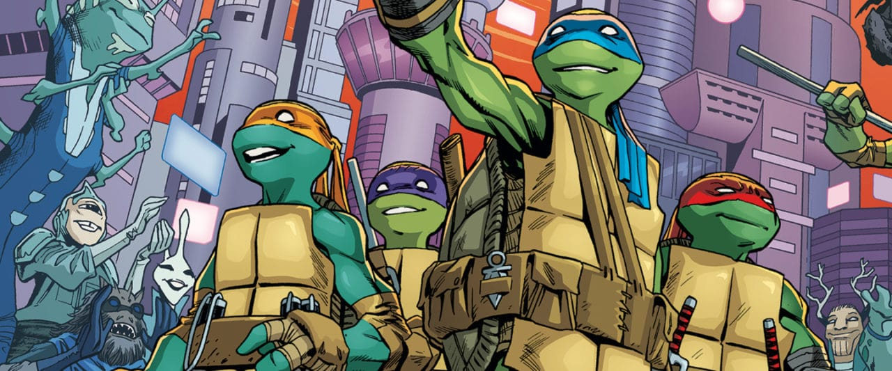 Idw S Teenage Mutant Ninja Turtles Is The Best Comic Book In The World Fortress Of Solitude