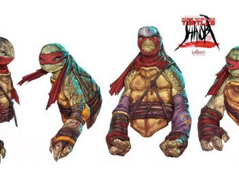 Mateus Santolouco Netflix Teenage Mutant Ninja Turtles