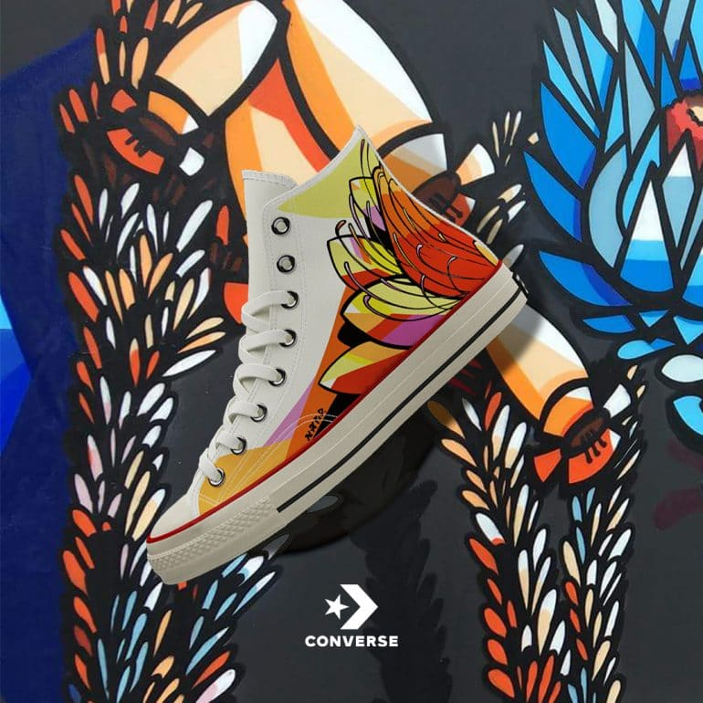 NARDSTAR Converse Unity Campaign Launches Its Arty Sneaker Collection Sneakers