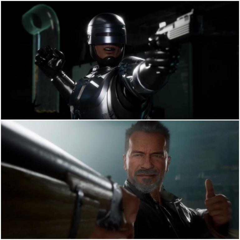 It's Robocop Versus The Terminator In The Latest Mortal Kombat 11: Aftermath Trailer