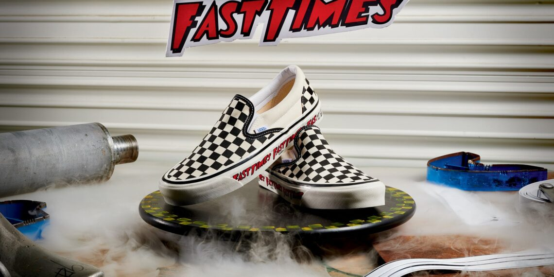 Vans Fast Times Checkerboard Slip-On Relaunched by Anaheim Factory