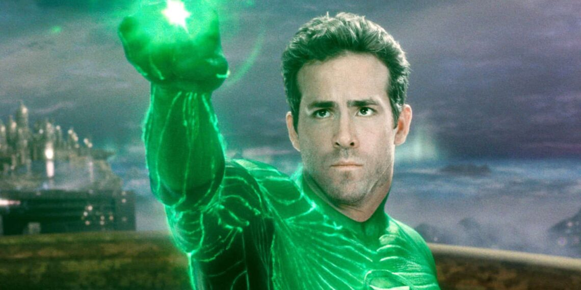 green lantern Ryan Reynolds joke Ryan Reynolds' Mockery of Green Lantern Is Exhausting Movies