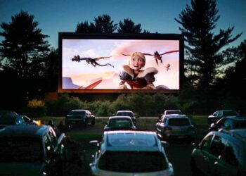 Drive in movie theatre 1 CGI: 9 Films That Revolutionised The Industry Movies