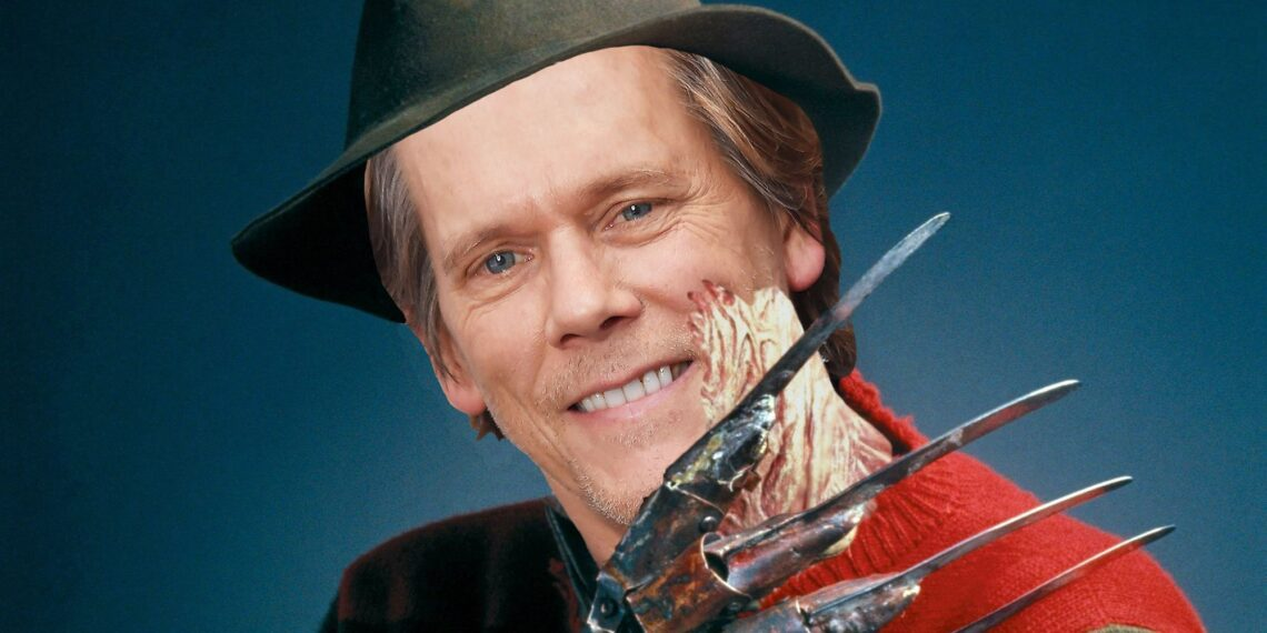 Kevin Bacon Freddy Krueger