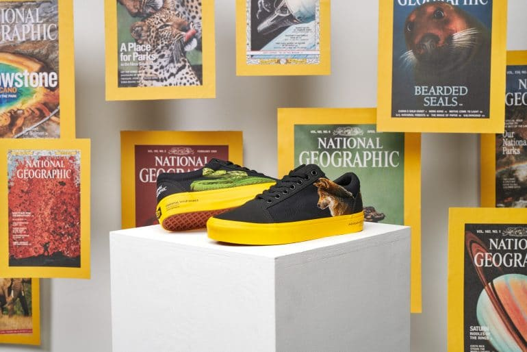Vans X National Geographic - Collection of Storytelling and Discovery