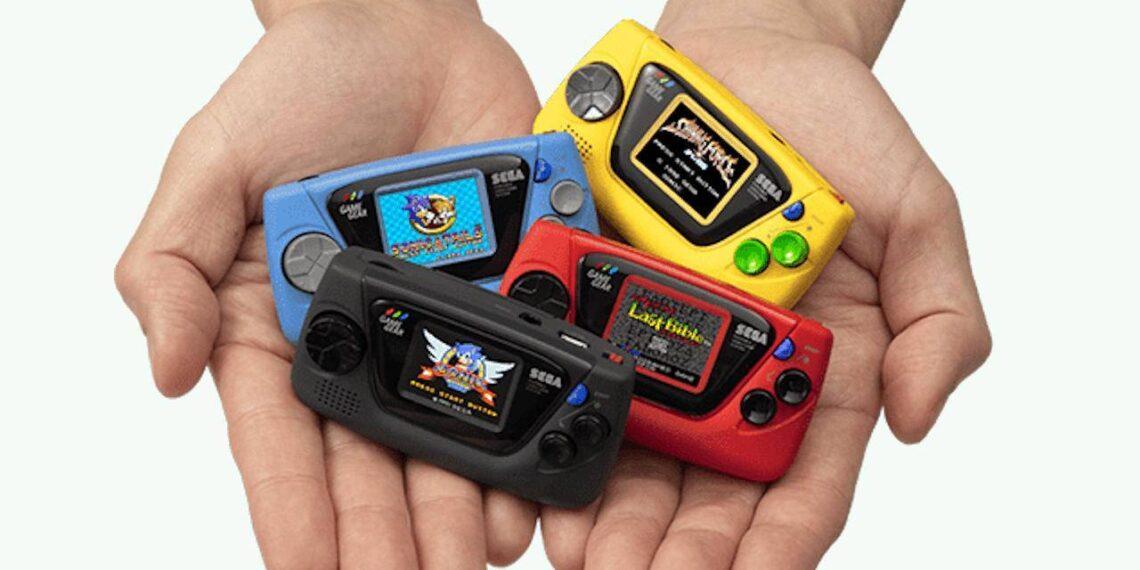 Sega game gear micro console Amazing! Sega Releases Game Gear Micro For 60th Anniversary Gaming