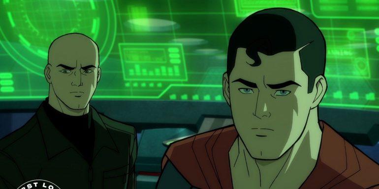Superman animated film