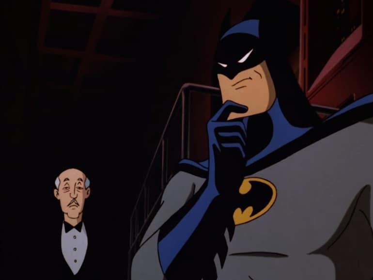 batman animated series warner bros new