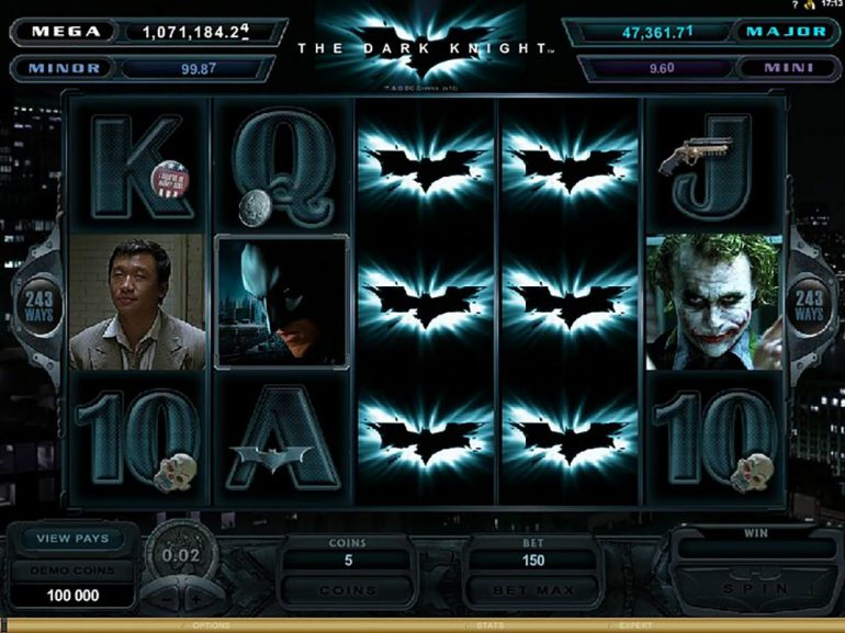 the-dark-knight slot games