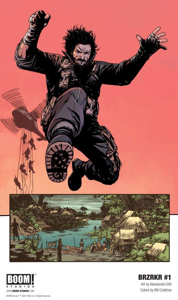 BRZRKR Keanu Reeves Comic Book