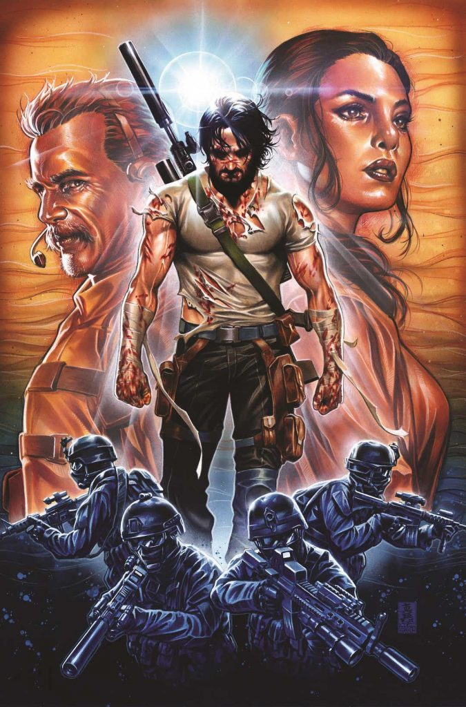 BRZRKR Keanu Reeves Comic Book