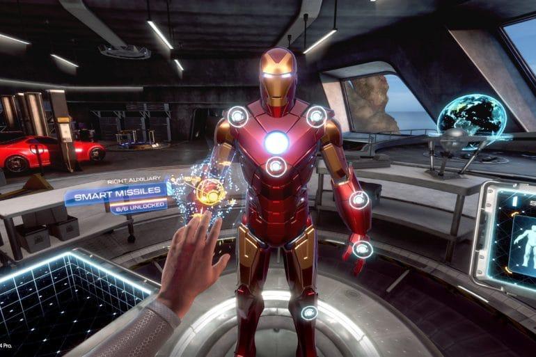 Iron Man VR game