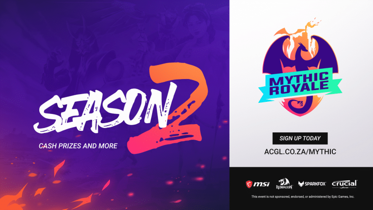 ACGL Announces A Second Season For Fortnite Mythic Royale