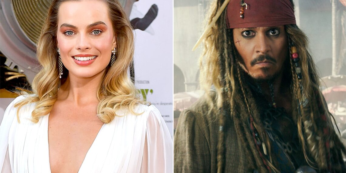 Margot Robbie Cast In New Pirates Of The Caribbean Movie Johnny Depp