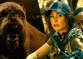 Megan Fox Takes On A Lion In Rogue Trailer