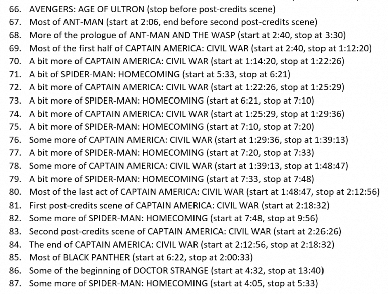 114 steps it takes to watch every movie in exact chronological order