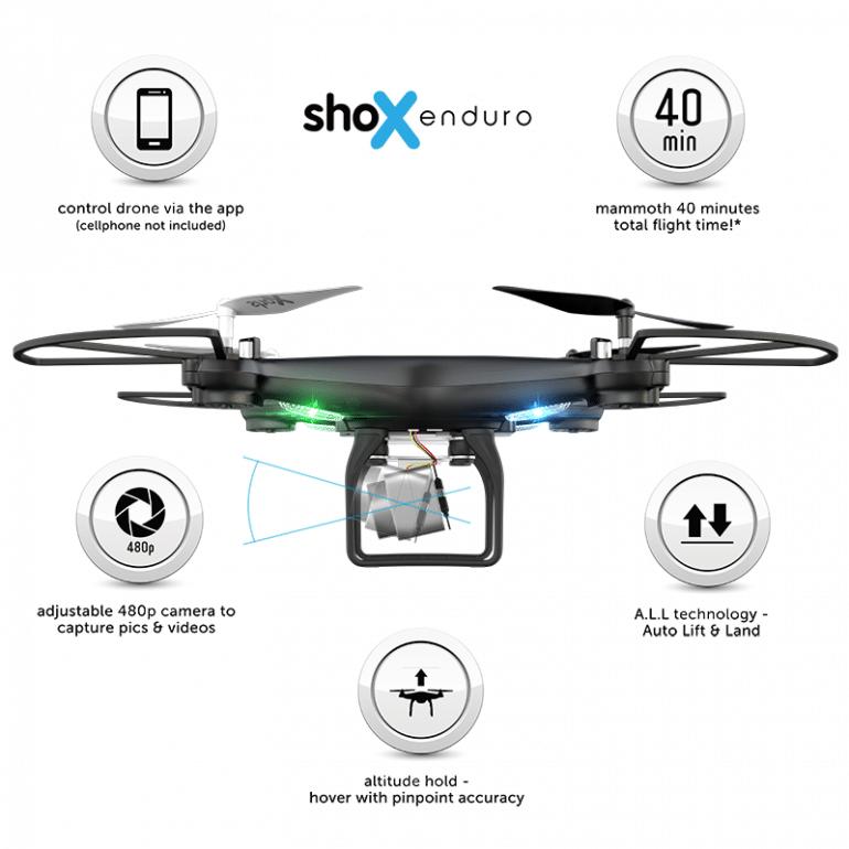 Win A Shox Enduro Drone Worth R1,699