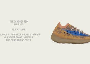 adidas Originals Drops New Yeezy BOOST 380 Blue Oat