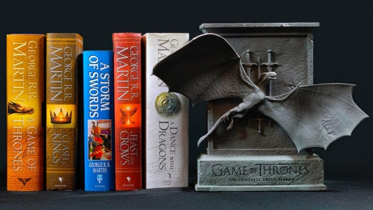 george rr martin game of thrones books
