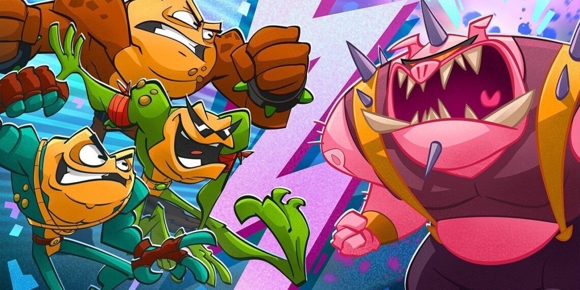 Battletoads Squashes Frogger As the Best Game About Frogs