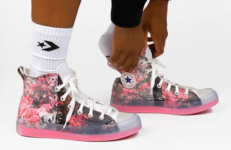 Converse x Shaniqwa Jarvis with Vibrant Floral Imagery