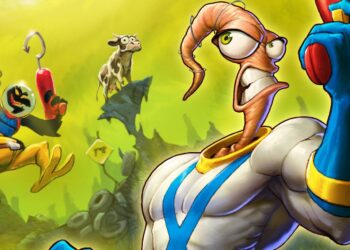 Earthworm Jim 4 Intellivison Amico Gameplay