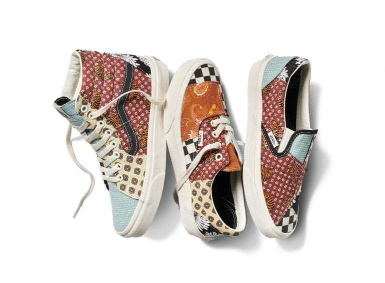 Vans Tiger Patchwork Gets Patchy - But In a Good Way