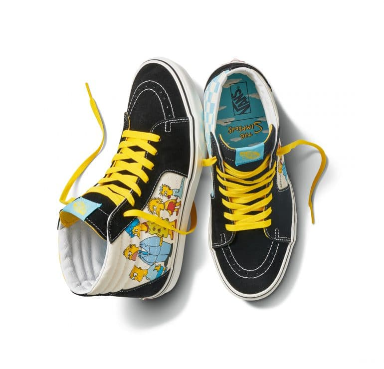 Vans x Simpsons Pays Homage Three Decades of The Simpsons