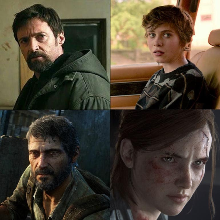 Hugh Jackman and Sophia Lillis The Last Of Us HBO TV Show