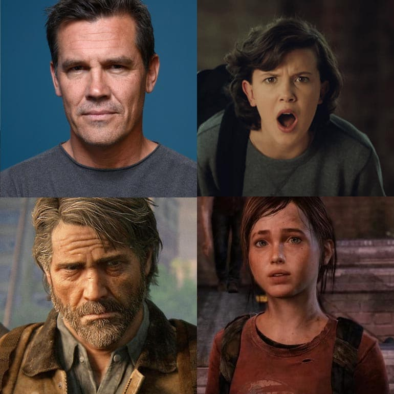Josh Brolin and Millie Bobby Brown The Last Of Us HBO TV Show