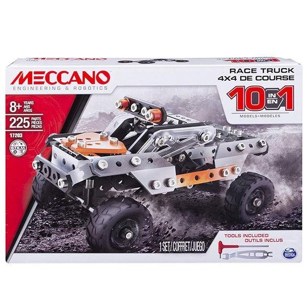 Meccano 10-in-1 Race Truck