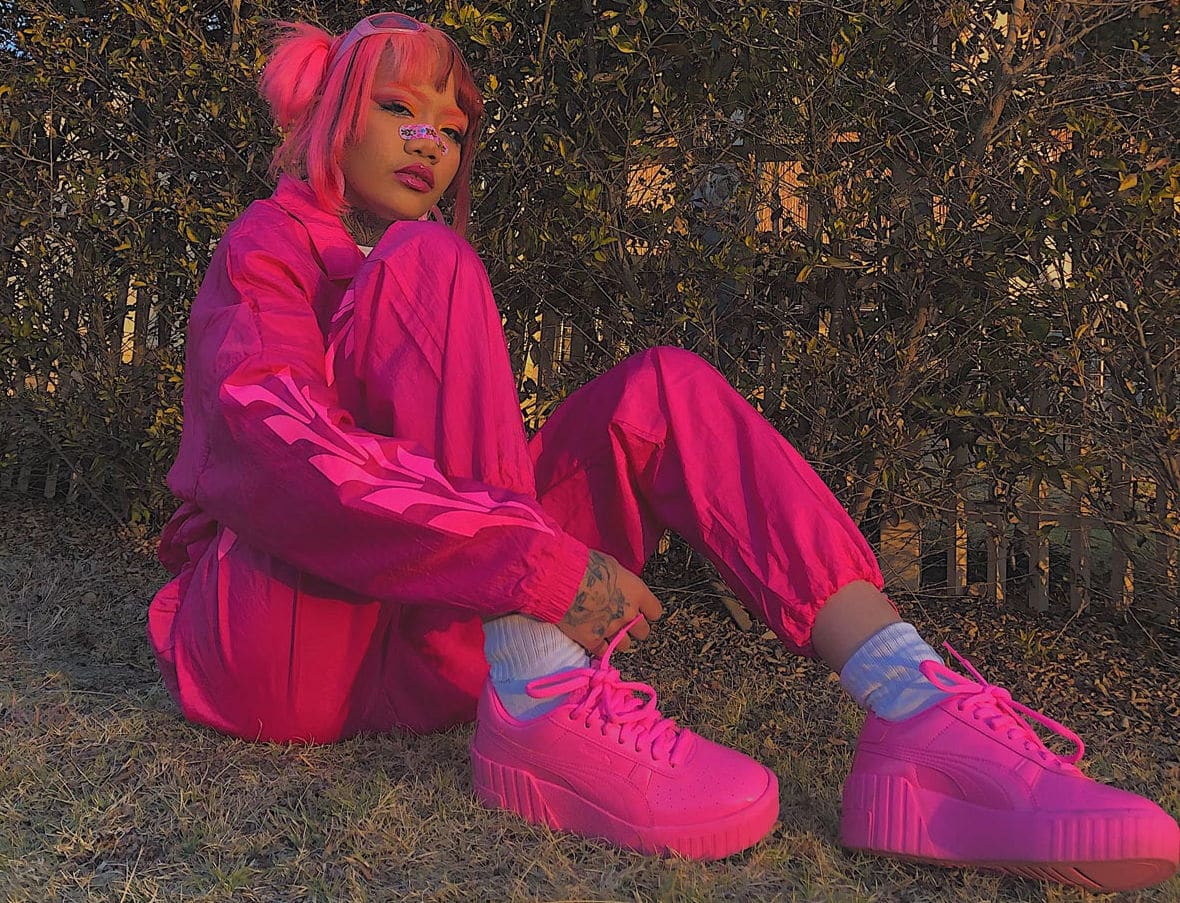 PUMA Release the Pretty Pink Collection