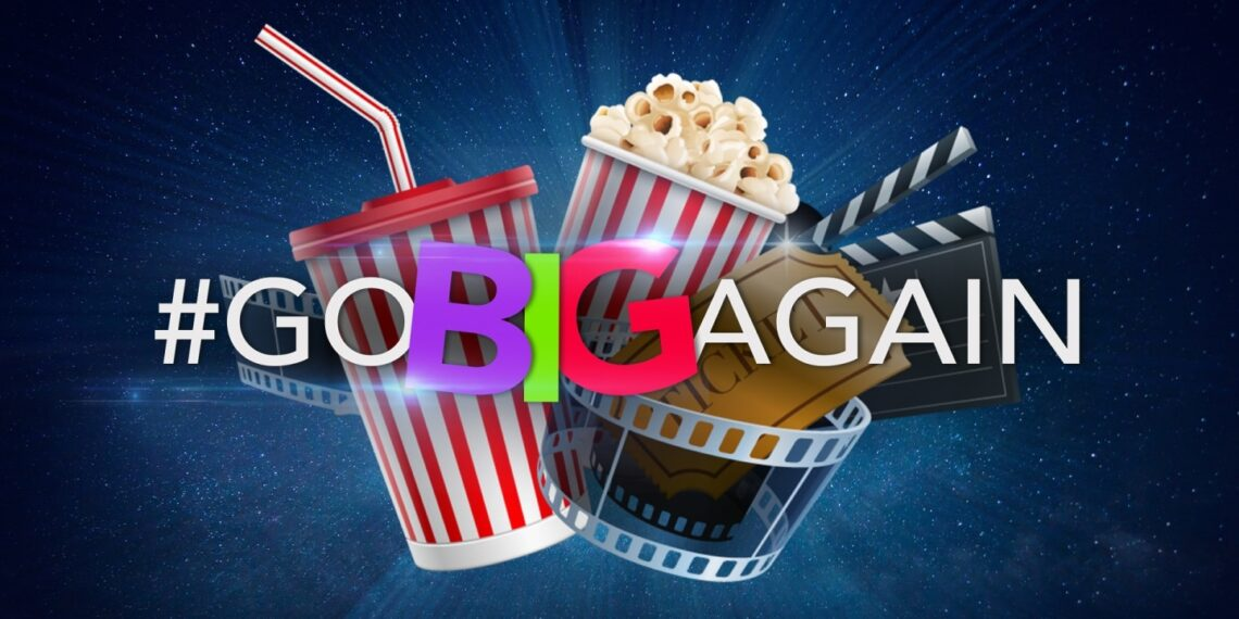#GoBigAgain: The Cinema Industry In South Africa Reveals Reopening Campaign