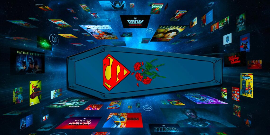 Rest in Peace, DC Universe