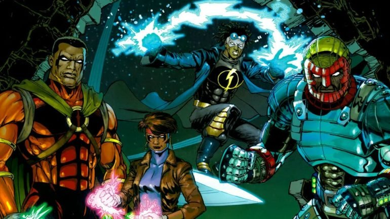 Static Shock Comic Book Movie