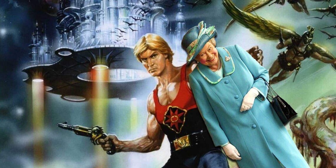 The Queen Of England's Favourite Christmas Movie Is Flash Gordon
