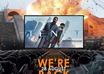 Nu Metro Cinema We're Back - Tenet - 28 Aug