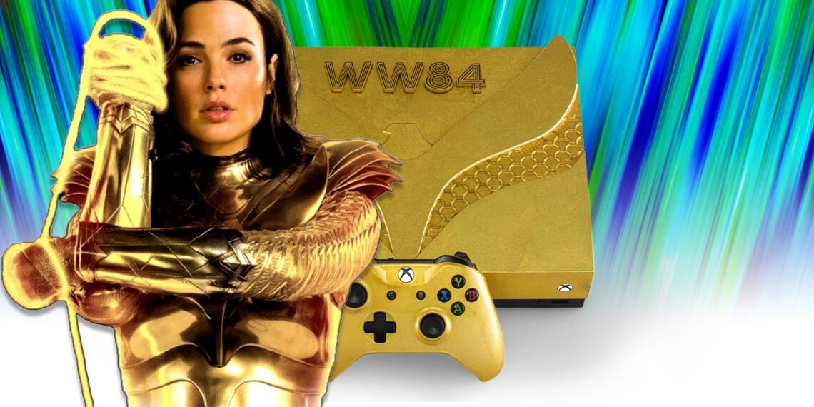 Xbox Wonder Woman 1984 Consoles Are... Different